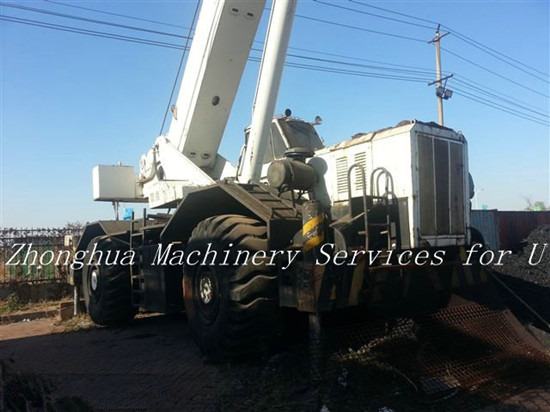 Grove Used 80 Ton Rough Terrain Crane 40 Discount