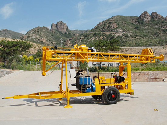Gsd I Trailer Type Water Well Drilling Rig