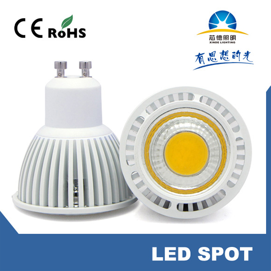Gu10 Led Cob 5w Spotlight Cup