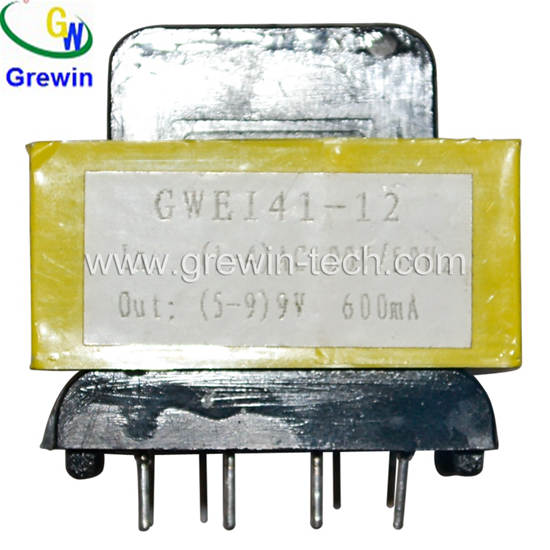 Gwei19 Ei28 Ei35 Ei41 Ei96 Ac Dc 230v Pin Type Power Transformer For Communication