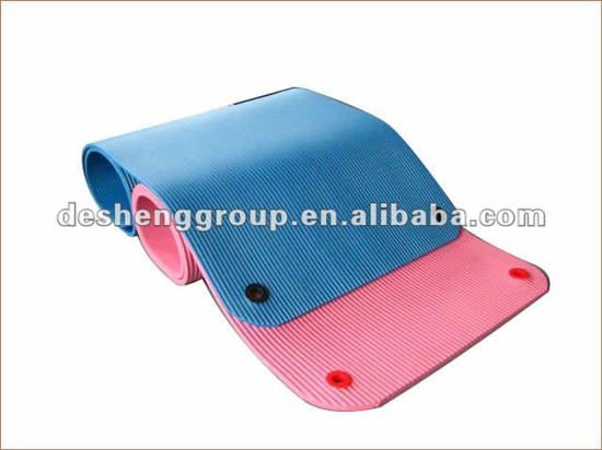 Gym Mat Exercise Judo Gymnastic Sports Rubber Cushion Nbr Camping Concerned