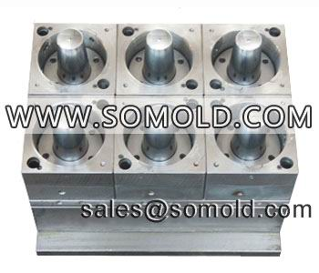 H13 Steel 6 Cavities Thin Wall Airline Cup Mould With Hot Runner