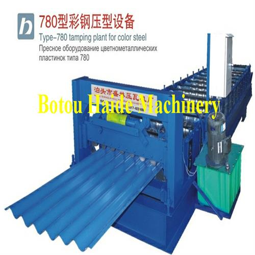 Haide Type 780 Roll Forming Machine