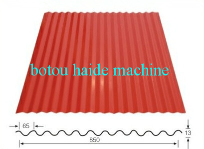 Haide Type 850 Corrugated Tile Roll Forming Machine