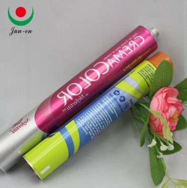 Hair Dye Cream Aluminum Tube