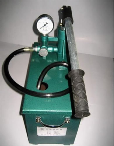 Hand Pressure Test Pump Easy Operation And High Efficiency