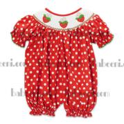 Hand Smocked Bubble For Baby Girls