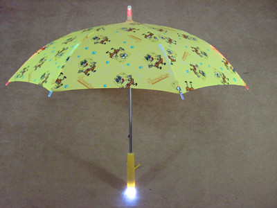 Hand Torch Fashion Straight Pole Light Led Umbrella