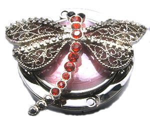 Handbag Hook Dragonfly Shape