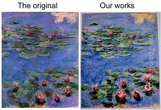 Handmade Famous Monet Painting High Quality
