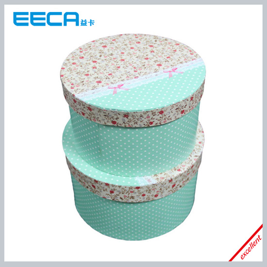 Handmade Paper Round Box Design Hat