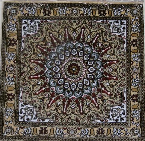 Handmade Silk Persian Carpet