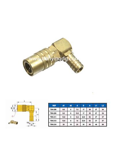 Hasco Standard Mold Coupling 90 Degree Brass Elbow Dongguan Supplier