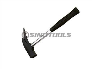 Hatchet Type Hammer With Tubular Steel Handle
