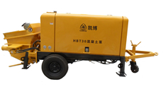 Hbt Series Concrete Pump