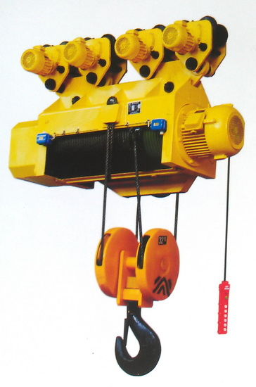 Hc Electric Wire Rope Hoist With Large Capacity 1 100t