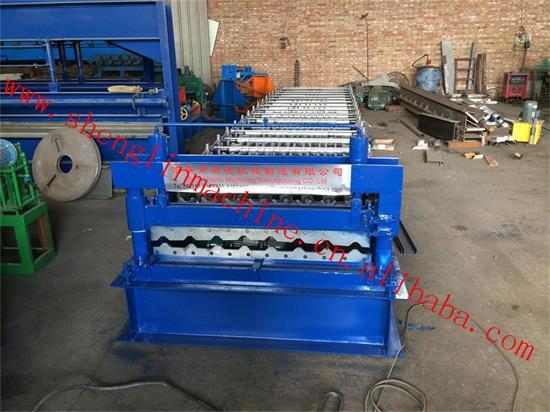 Hd 1070 Roll Forming Machine