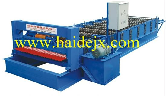 Hd Type 850 Corrugated Roll Forming Machine