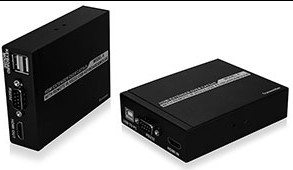 Hdmi 50m Single Cat5e 6 Extender With Kvm