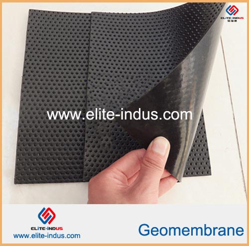Hdpe Anti Skid Point Liner Geomembrane
