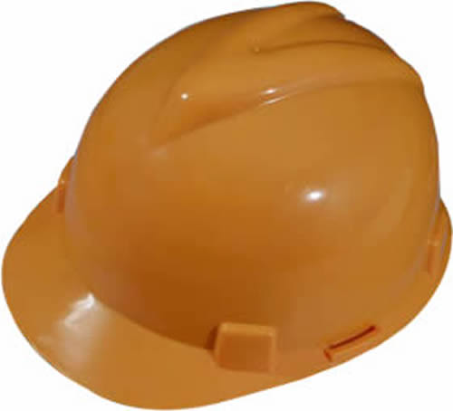 Hdpe Safety Helmet Provides Superb Head Protection