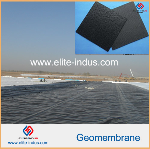 Hdpe Textured Rough Surface Lldpe Geomembrane Lining