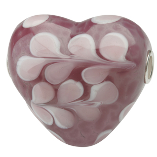 Heart Shape Glass Beads