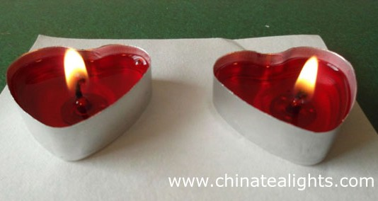 Heart Tealight Candle For Valentine S Day Wedding