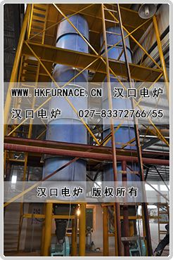 Heat Insulated Mortar Vitrification Microsphere Expansion Furnace
