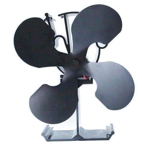 Heat Powered Wood Burner Stove Fan