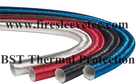 Heat Protector Silicone Spark Plug Wire Sleeve