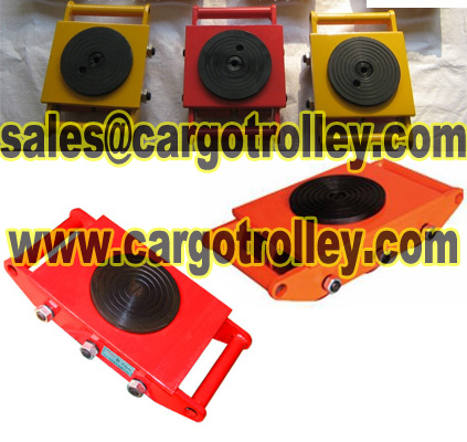 Heavy Duty Load Rollers Applied On Moving And Positon Equipment