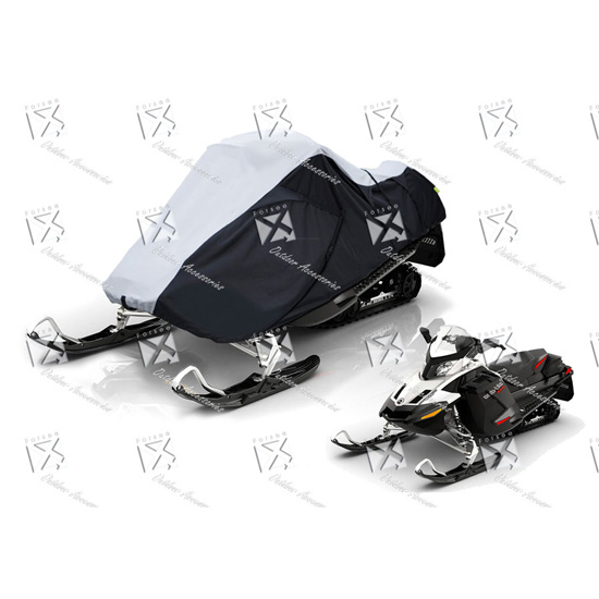 Heavy Duty Polyester Travel Snowmobile Cover