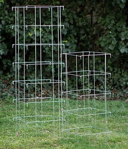 Heavy Duty Tomato Cages Made Of Concrete Welded Reinforcing Mesh