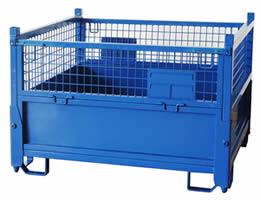 Heavy Duty Wire Container For Large Scale Storage