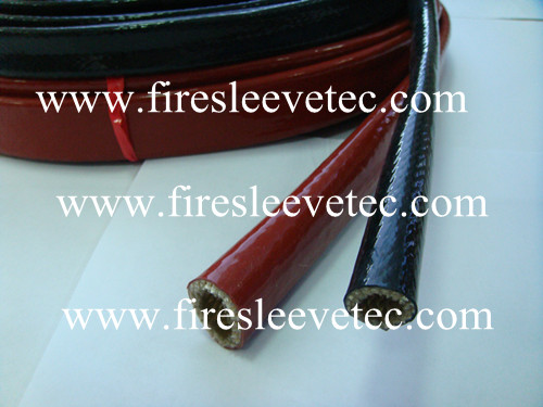 Heavy Wall Braided Glass Fiber Fire Sleeve