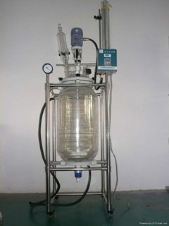 Heb 80l Jacketed Glass Reactor