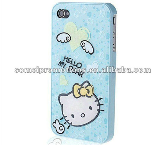 Hello Kitty Pc Case For Iphone 4 4s 5 Cases