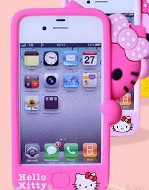 Hello Kitty Silicone Iphone 4s Case Pink White Otterbox Price Supplier