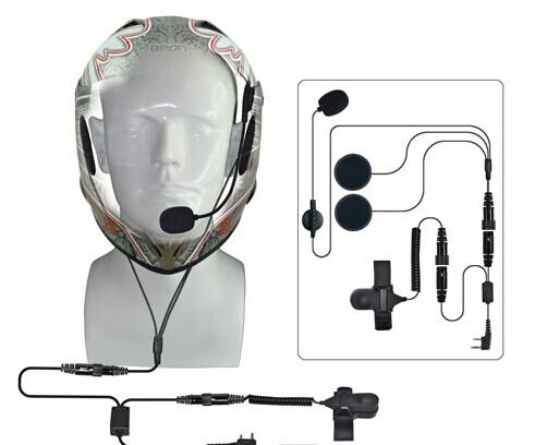 Helmet Headset Fireman For Walkie Talkie