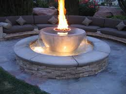 Here We Are Offering Fire Pit Garden Ornament