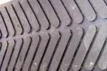 Herringbone Pattern Cow Mat