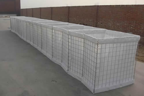 Hesco Barriers Come Into Use In Very Short Time