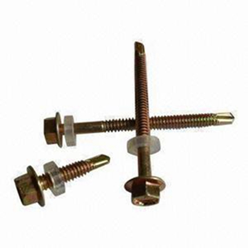 Hex Flange Roofing Screw With Epdm Washer
