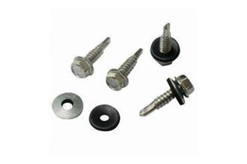 Hex Head Self Drilling Screw With Bonded Washer