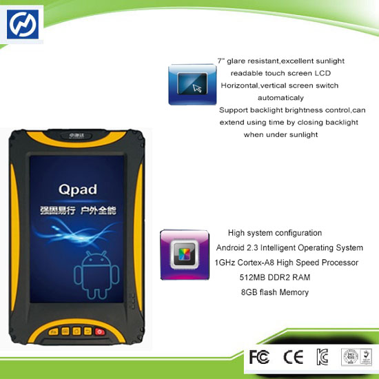 Hi Target Qpad Tablet Gis System Gps Data Collector