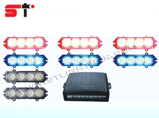 High Bright 8 Modes Led Truck Car Strobe Light Kit