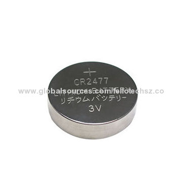 High Capacity 1 000mah 3 0v Limno2 Button Cell Battery Cr2477 For Main Board Of Computers