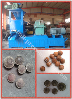 High Capacity Dry Powder Briquette Machine