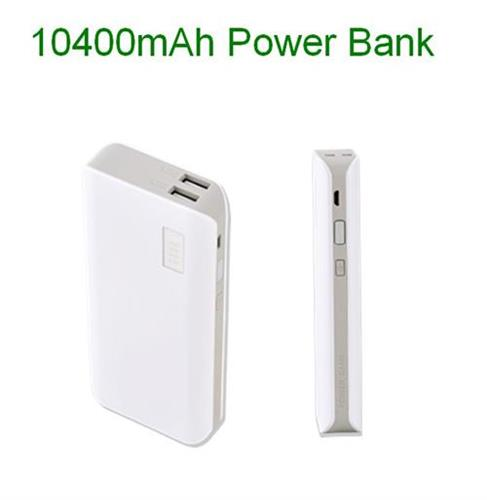 High Capacity Power Bank Station 10400mah External Battery Charger For Smart Phone Pc Tablet